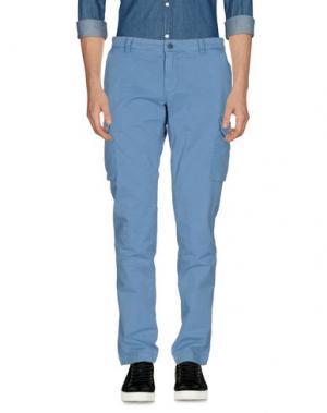 Повседневные брюки MASON'S. Цвет: лазурный