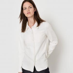 Рубашка с длинными рукавами Atelier Bartavelle x La Redoute. Цвет: хаки