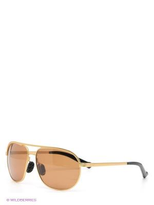 Солнцезащитные очки Selena. Цвет: золотистый, коричневый