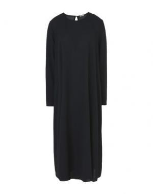 Платье длиной 3/4 A.B APUNTOB. Цвет: черный