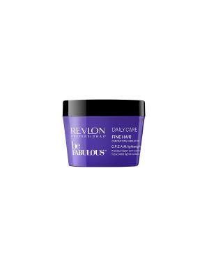 Ежедневный уход для тонких волос. C.R.E.A.M. маска RP BE FABULOUS 200 мл Revlon Professional. Цвет: индиго