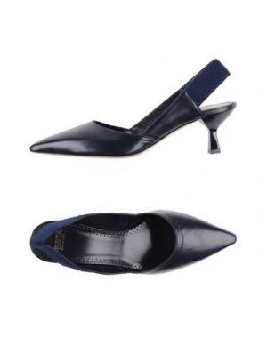 Туфли FESTA MILANO. Цвет: темно-синий