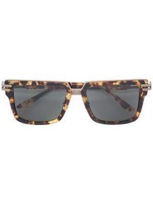 Солнцезащитные очки Rich Back Frency & Mercury. Цвет: коричневый