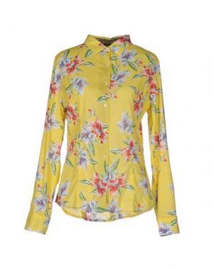 Pубашка GANESH. Цвет: желтый