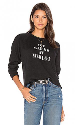 Пуловер starria TYLER JACOBS. Цвет: черный