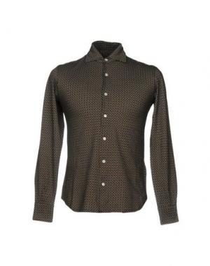 Pубашка FIORIO. Цвет: темно-коричневый