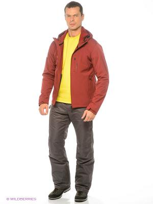 Куртка BRUNOTTI. Цвет: бордовый