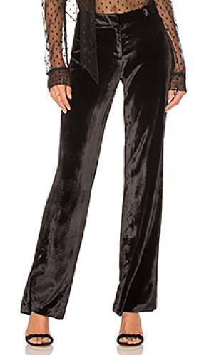 Широкие брюки sia MILLY. Цвет: черный