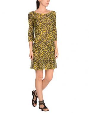 Пляжное платье FISICO-CRISTINA FERRARI. Цвет: желтый