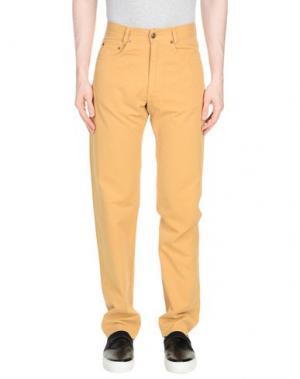 Повседневные брюки MARLBORO CLASSICS. Цвет: охра