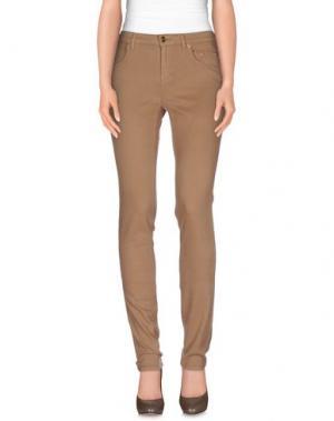 Повседневные брюки SIVIGLIA. Цвет: верблюжий