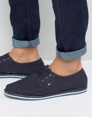 Tommy Hilfiger Эспадрильи на шнуровке Delaney. Цвет: темно-синий
