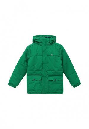 Куртка утепленная Trespass. Цвет: зеленый
