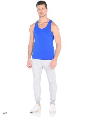 Майка yogadress. Цвет: синий