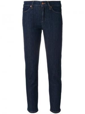 Укороченные джинсы Piera Cambio. Цвет: синий
