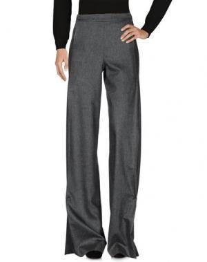 Повседневные брюки VIONNET. Цвет: свинцово-серый