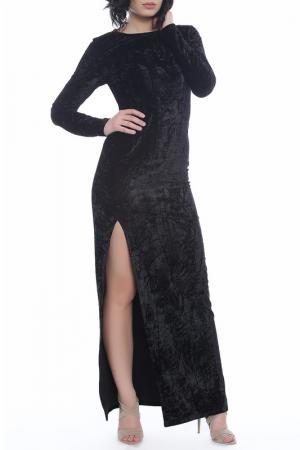 Платье Moda di Chiara. Цвет: черный