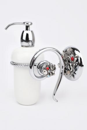 Дозатор для жидкого мыла I Pavoni. Цвет: хром