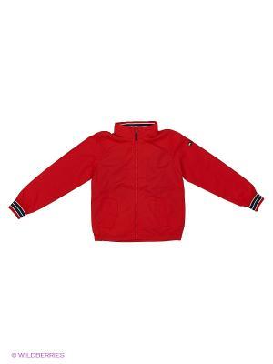 Куртка Tommy Hilfiger. Цвет: красный