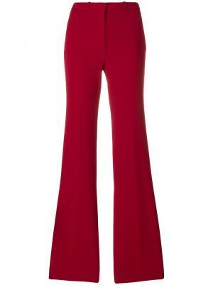 Широкие брюки Theory. Цвет: красный
