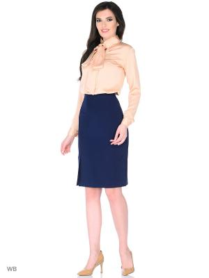 Блузка Mary Gri. Цвет: персиковый