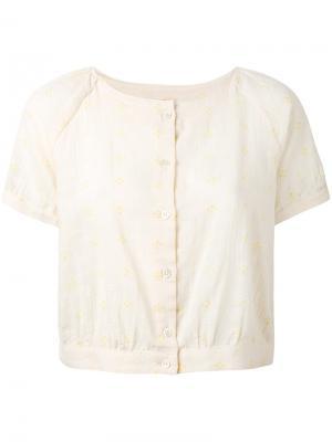 Блузка Lula Bellerose. Цвет: телесный
