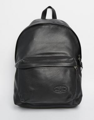 Eastpak Кожаный рюкзак с уплотнением PakR. Цвет: черный