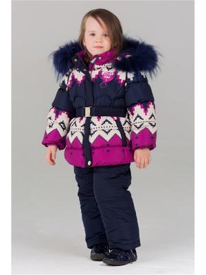 Комплект одежды Bilemi. Цвет: малиновый