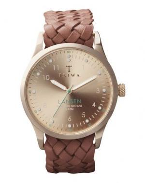 Наручные часы TRIWA. Цвет: медный