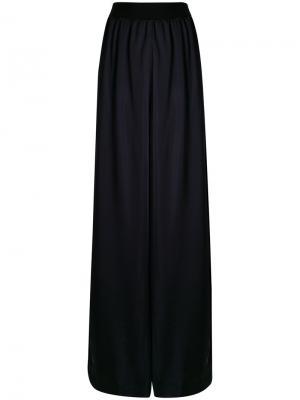 Расклешенные брюки с завышенной талией Maison Margiela. Цвет: синий