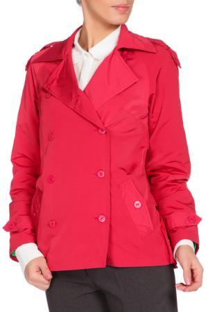 Куртка May Be. Цвет: розовый