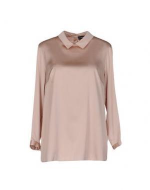 Блузка ALEXANDER TEREKHOV. Цвет: розовый