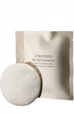 Отшелушивающие диски Bio-Performance с антивозрастным эффектом Shiseido. Цвет: бесцветный