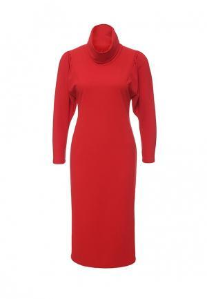 Платье Borodulins Borodulin's. Цвет: красный