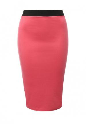 Юбка Influence. Цвет: розовый
