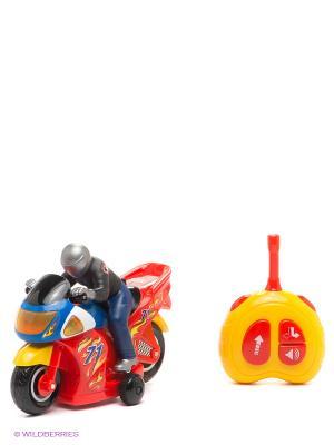 Развивающая игрушка Гонщик с пультом управления Kiddieland. Цвет: красный