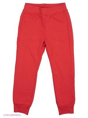 Брюки United Colors of Benetton. Цвет: красный