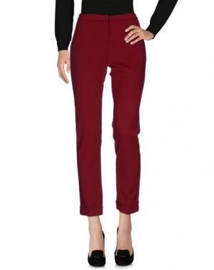 Повседневные брюки KING KONG. Цвет: красно-коричневый