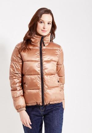 Куртка утепленная Gap. Цвет: коричневый