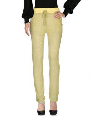 Повседневные брюки NAUGHTY DOG. Цвет: желтый