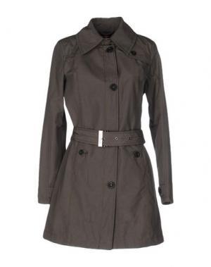 Легкое пальто CANADIENS. Цвет: серый