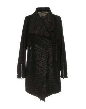 Легкое пальто VINTAGE DE LUXE. Цвет: черный