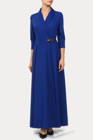Платье Krisna. Цвет: синий
