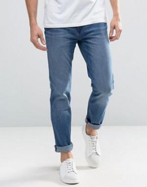 Waven Синие джинсы слим. Цвет: синий