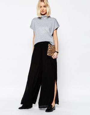 Paisie Свободные брюки с широкими штанинами. Цвет: черный