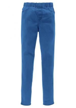 Джинсовые легинсы Colors for Life. Цвет: бирюзовый, голубой, лососевый, мятный, оранжевый, серый деним, синий потертый, черный, ярко-розовый