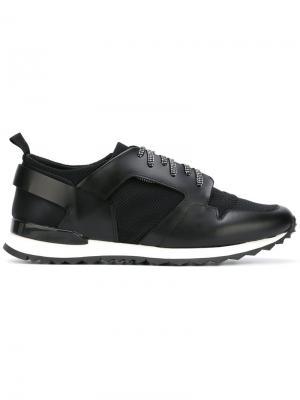 Кроссовки на шнуровке Oamc. Цвет: чёрный