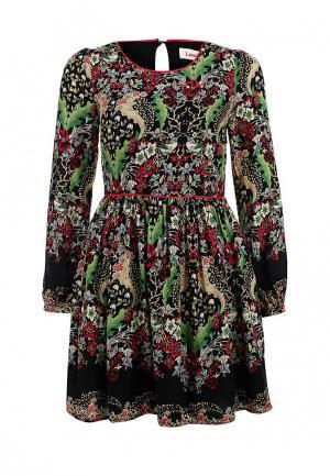 Платье Louche. Цвет: разноцветный