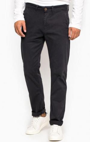 Темно-фиолетовые брюки чиносы Pepe Jeans. Цвет: фиолетовый