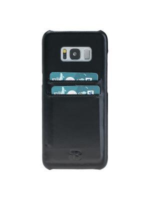 Чехол бампер Samsung Galaxy S8 Burkley. Цвет: черный